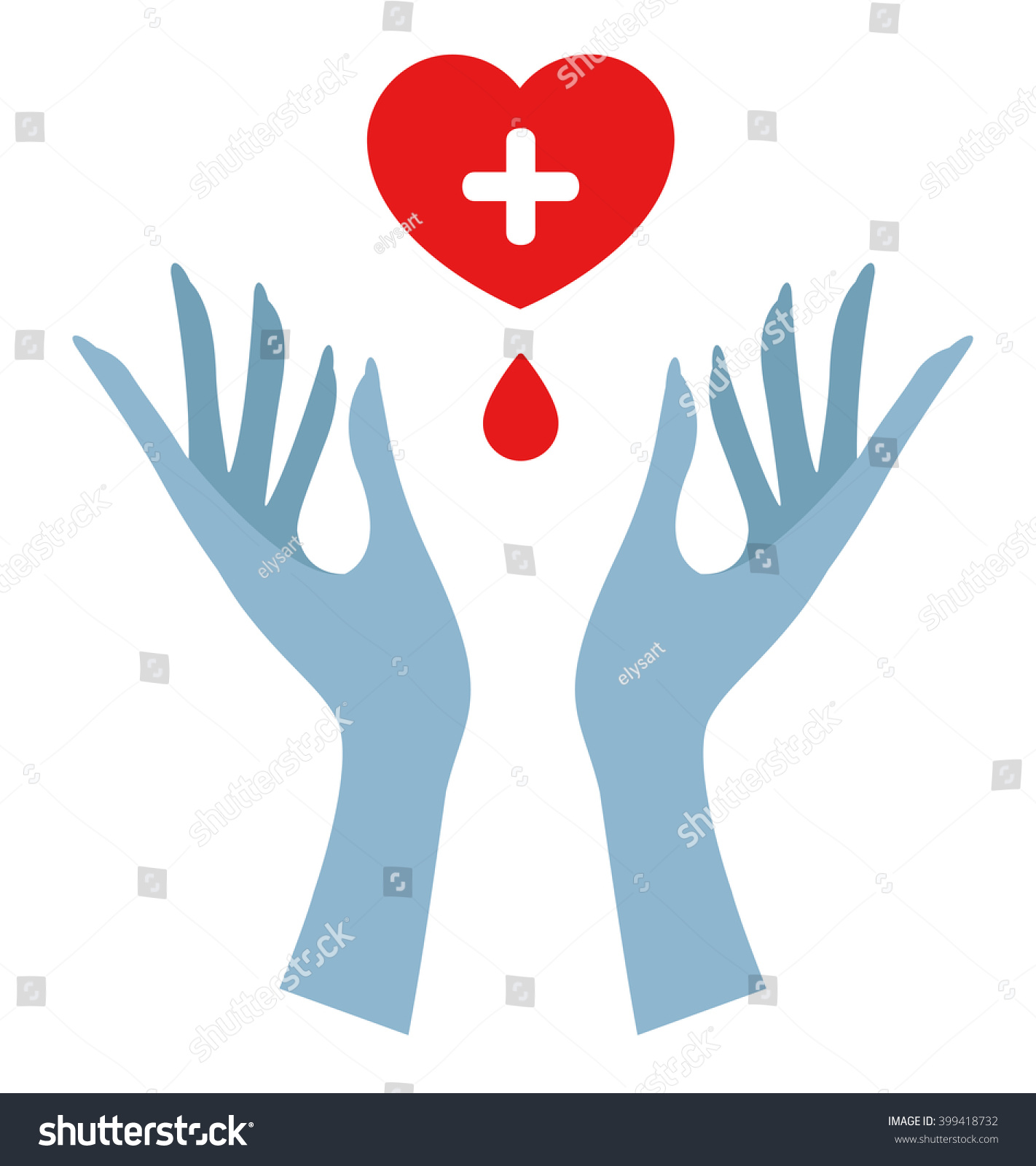 Blood donation symbol two hands stock vector 399418732 shutterstock blood donation symbol with two hands buycottarizona