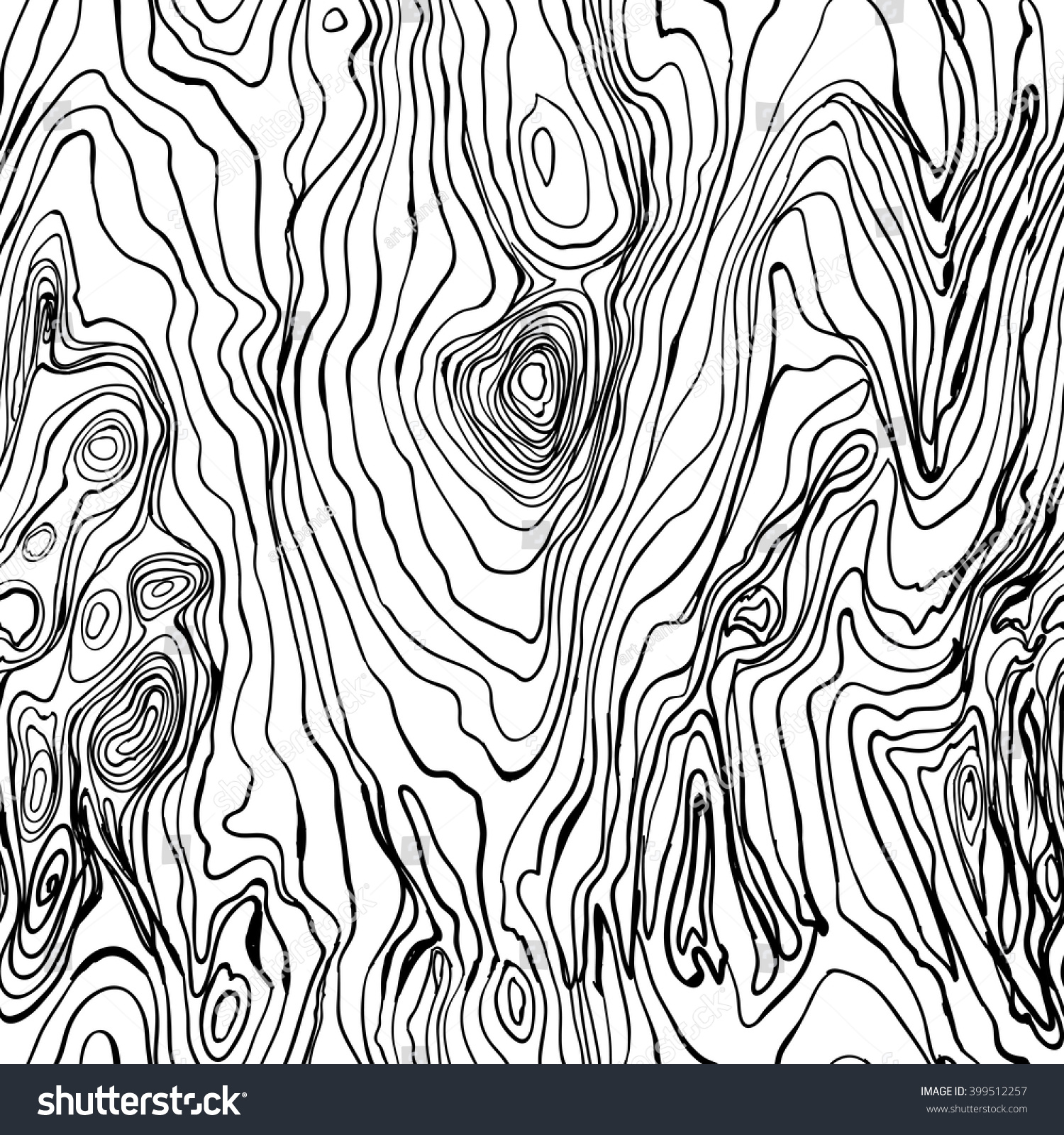 seamless texture painted wood cartoon wooden seamless stock vector