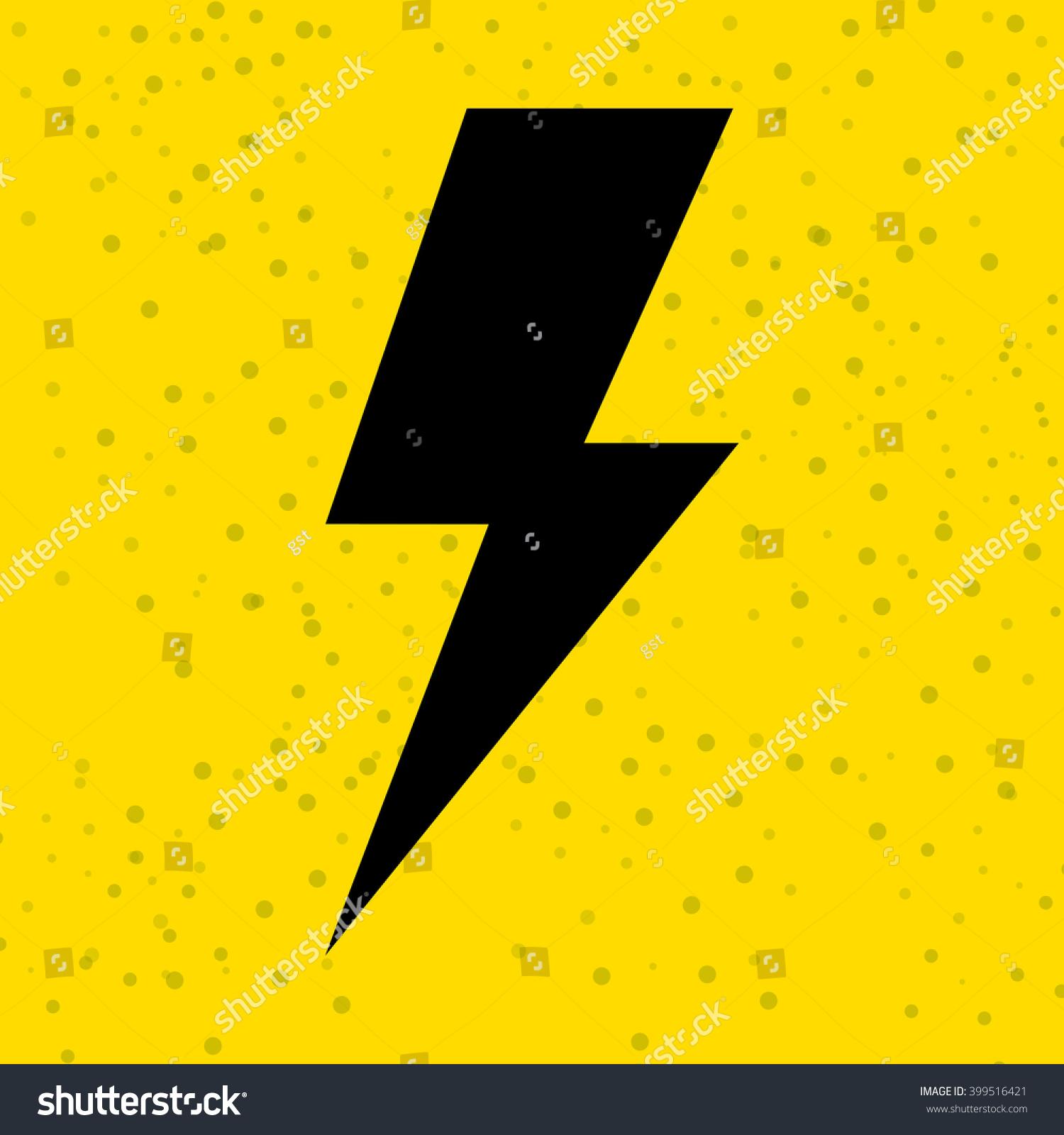 Thunder Icon Design Ez Canvas
