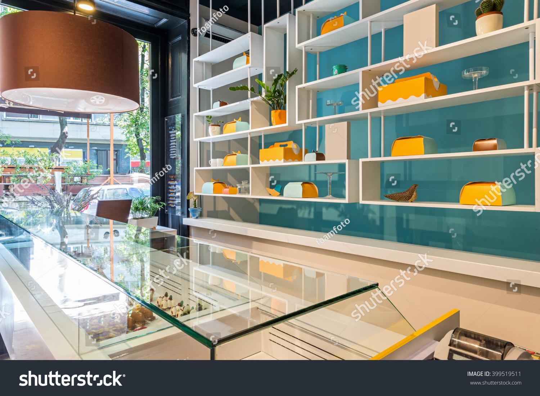 Cake Shop Interior Stock Photo 399519511 Shutterstock