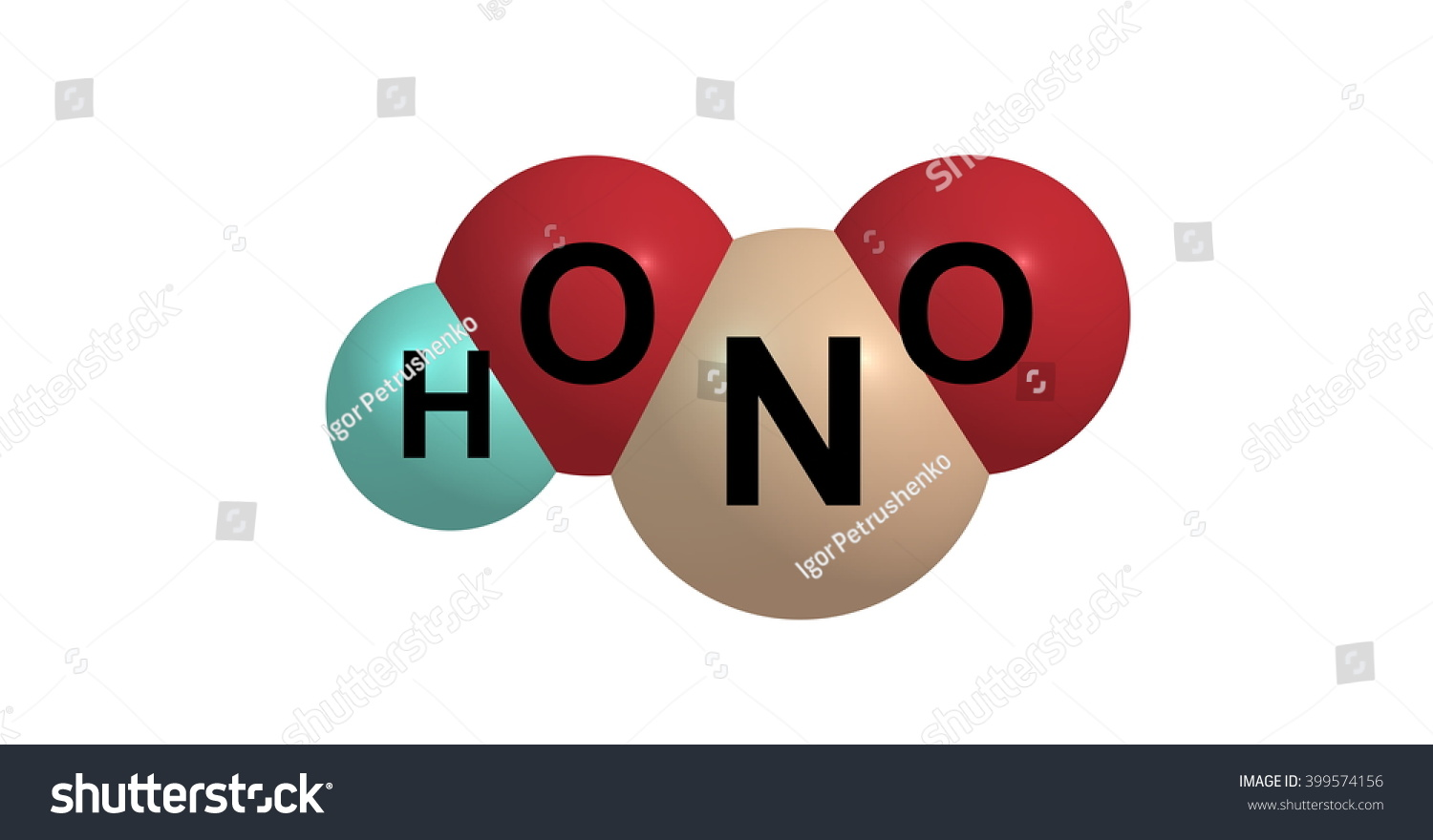 3d illustration nitrous acid hno2 weak stock illustration 3d illustration of nitrous acid or hno2 is a weak and monobasic acid known only in buycottarizona