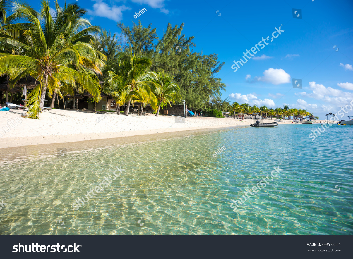 Views Of The Ocean beautiful views resort on island mauritius stock photo 399575521