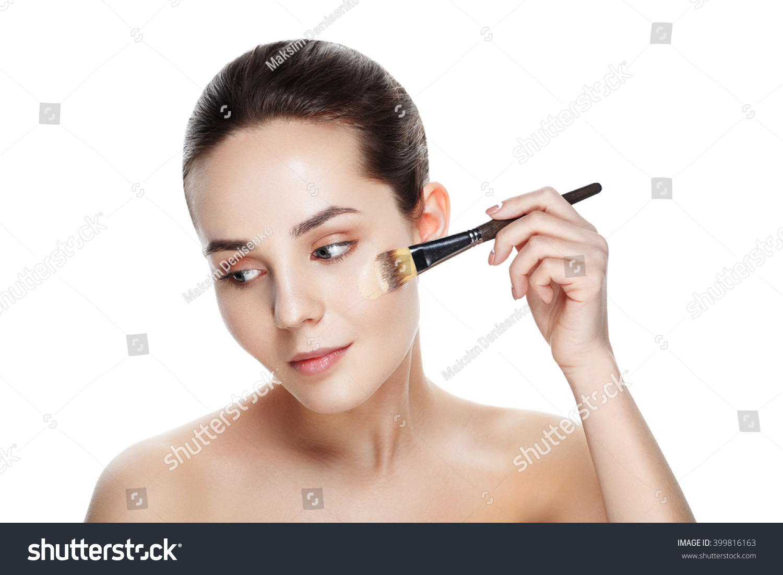 beauty girl face make - photo #31