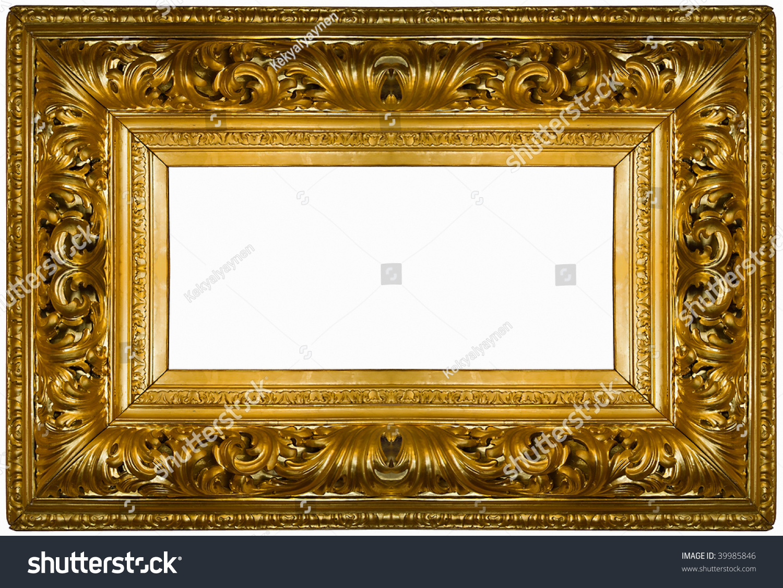 Как сделать лепнину на рамку картины