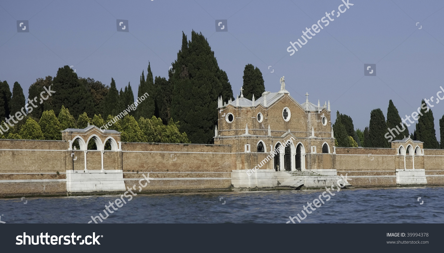 walls of cemetery san michele venice italy stock photo. Black Bedroom Furniture Sets. Home Design Ideas