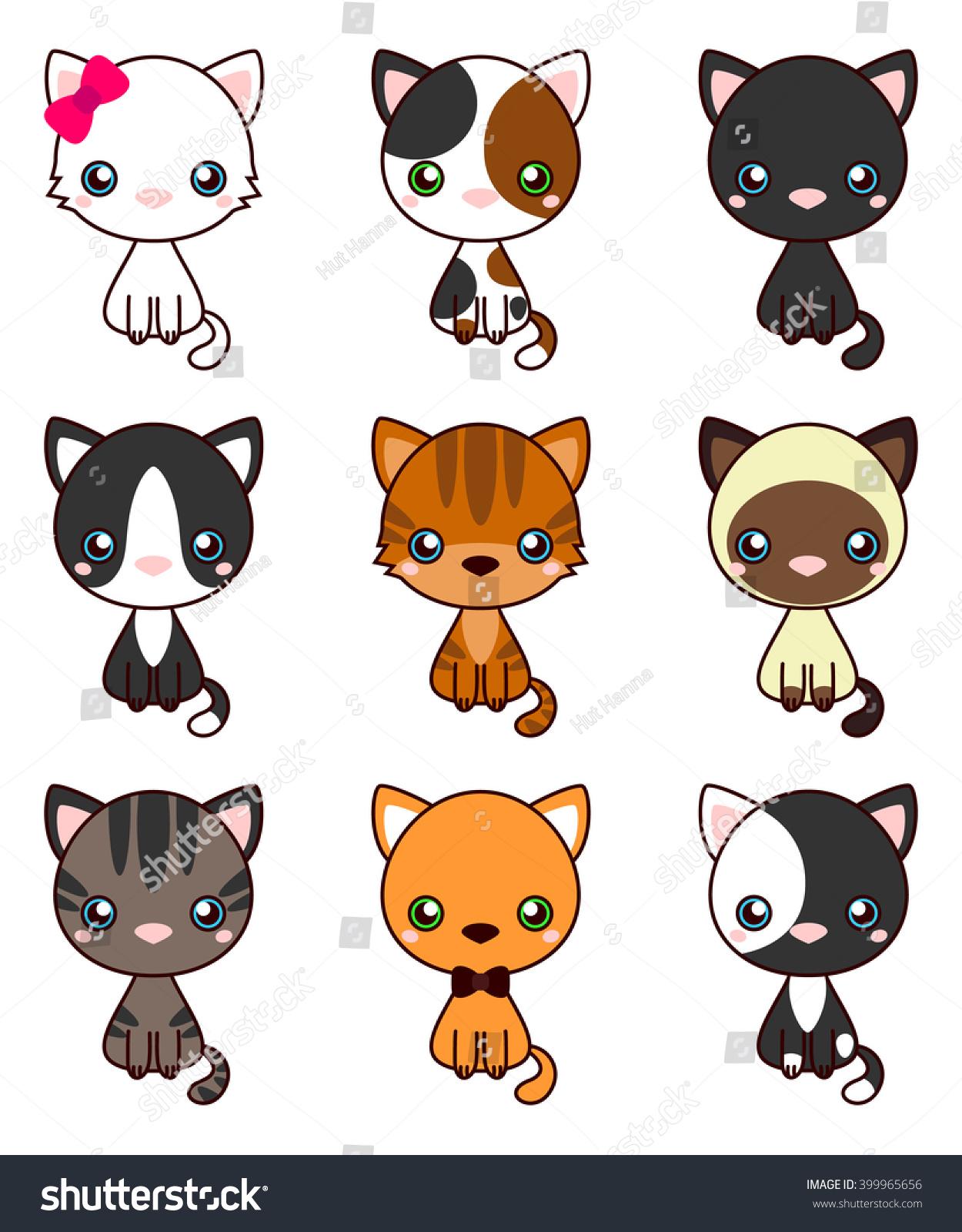 cat set black cat white cat stock vector royalty free 399965656 https www shutterstock com image vector cat set black white grey brown 399965656