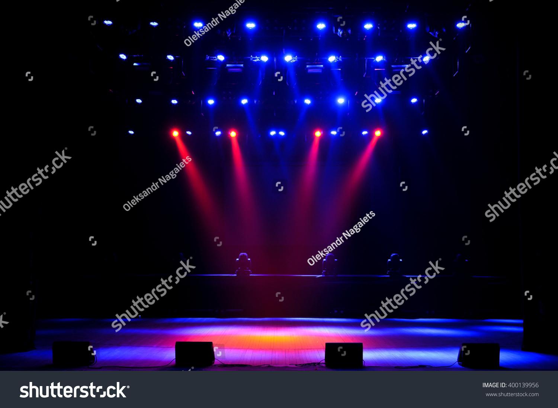 free stage lightsの写真素材 ロイヤリティフリー 400139956