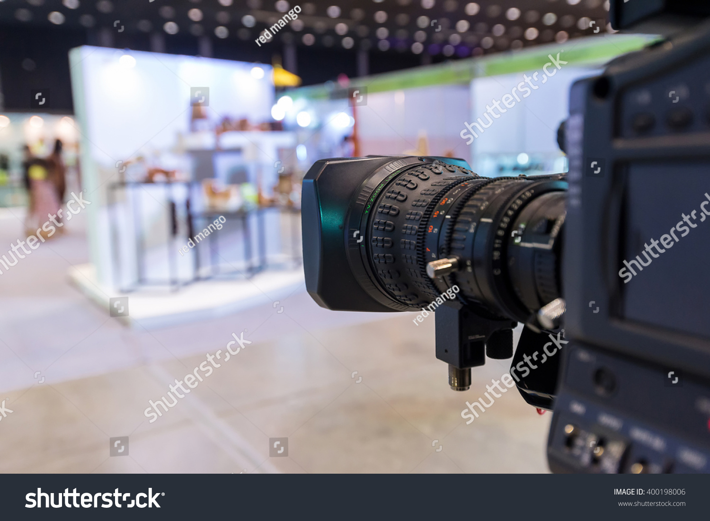 Camera Broadcasting Television Working In Studio Ez Canvas Of Digital Cameras Id 400198006