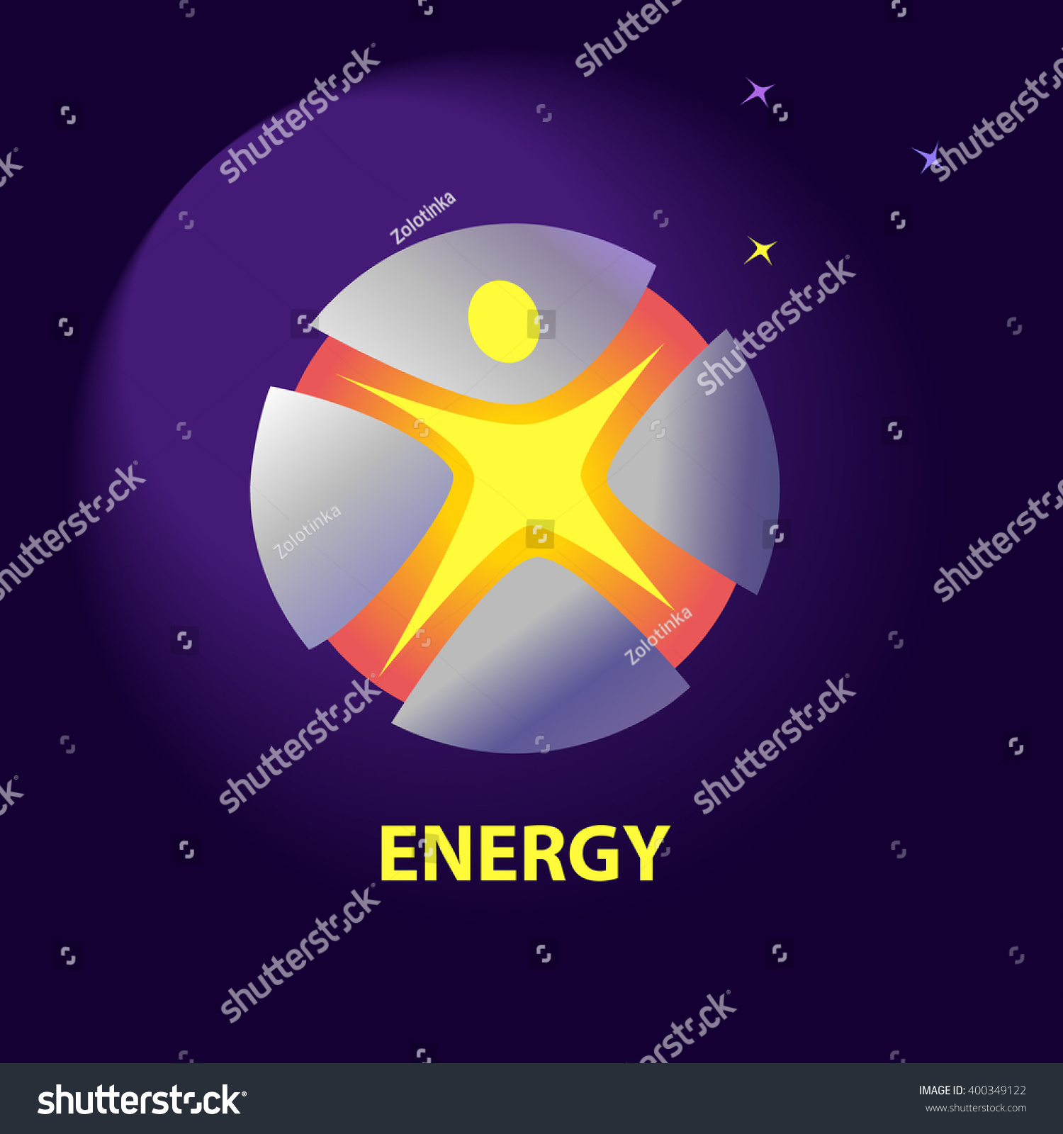 Vector logo symbols natural resources sun stock vector 400349122 vector logo with symbols of natural resources and sun energy saving energy resources improving buycottarizona