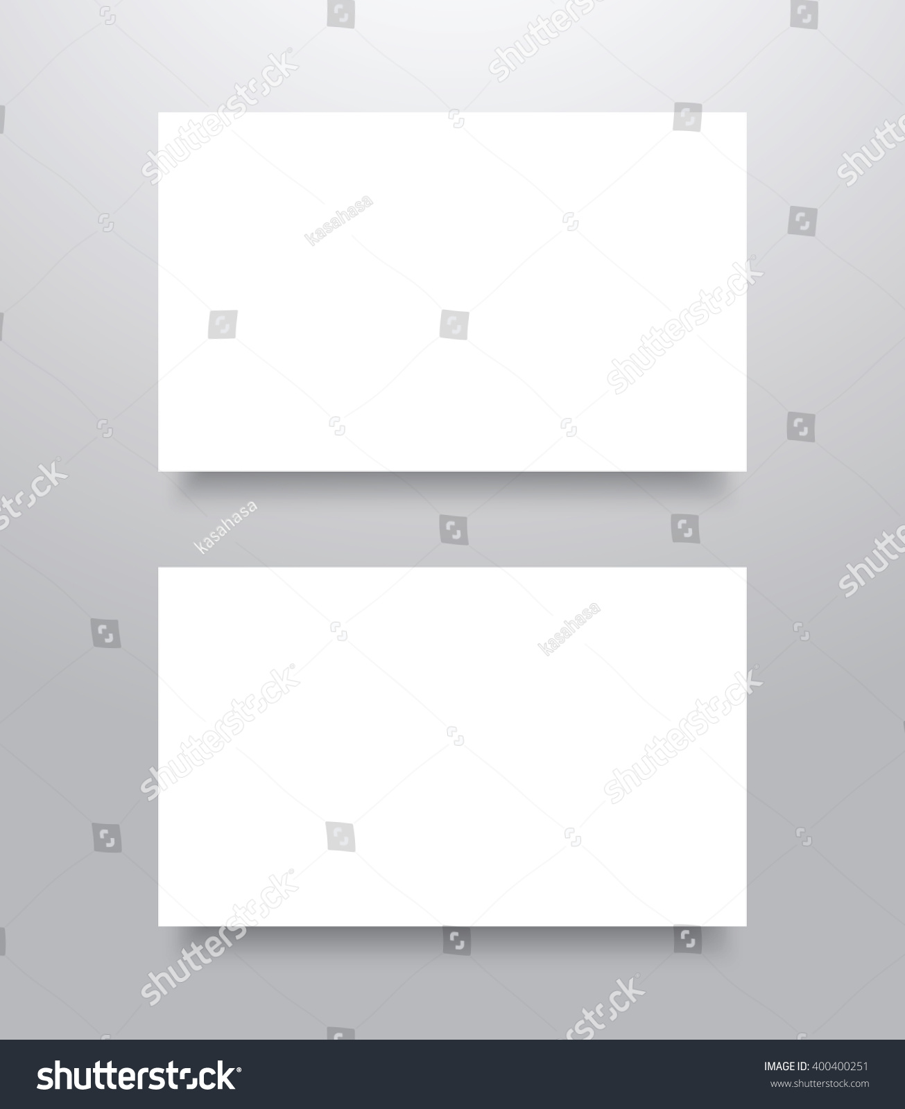 Blank business card mockup template shadow stock vector 400400251 blank business card mockup template shadow stock vector 400400251 shutterstock reheart Images