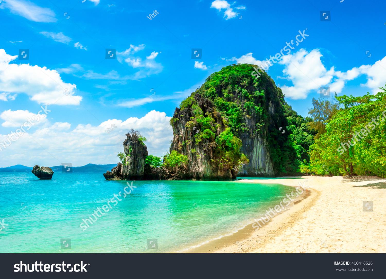 Beautiful Tropical Island Stock Photo 400416526 Shutterstock