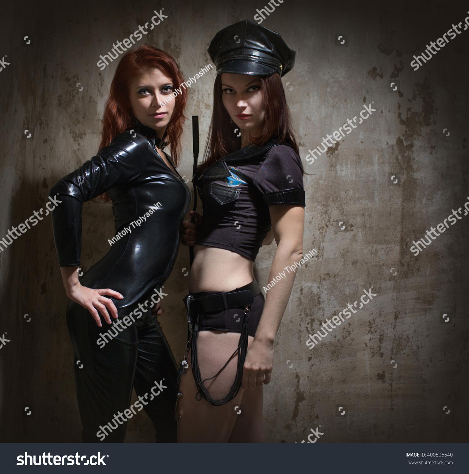 lesbian domination cop