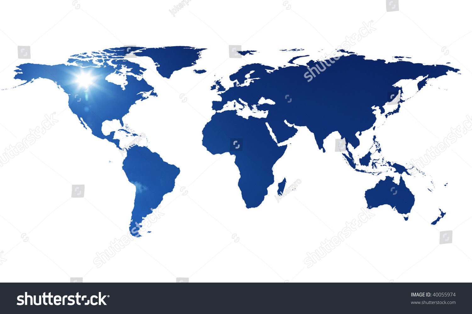 Image flat world map sky stock photo edit now 40055974 shutterstock an image of flat world map with sky gumiabroncs Images