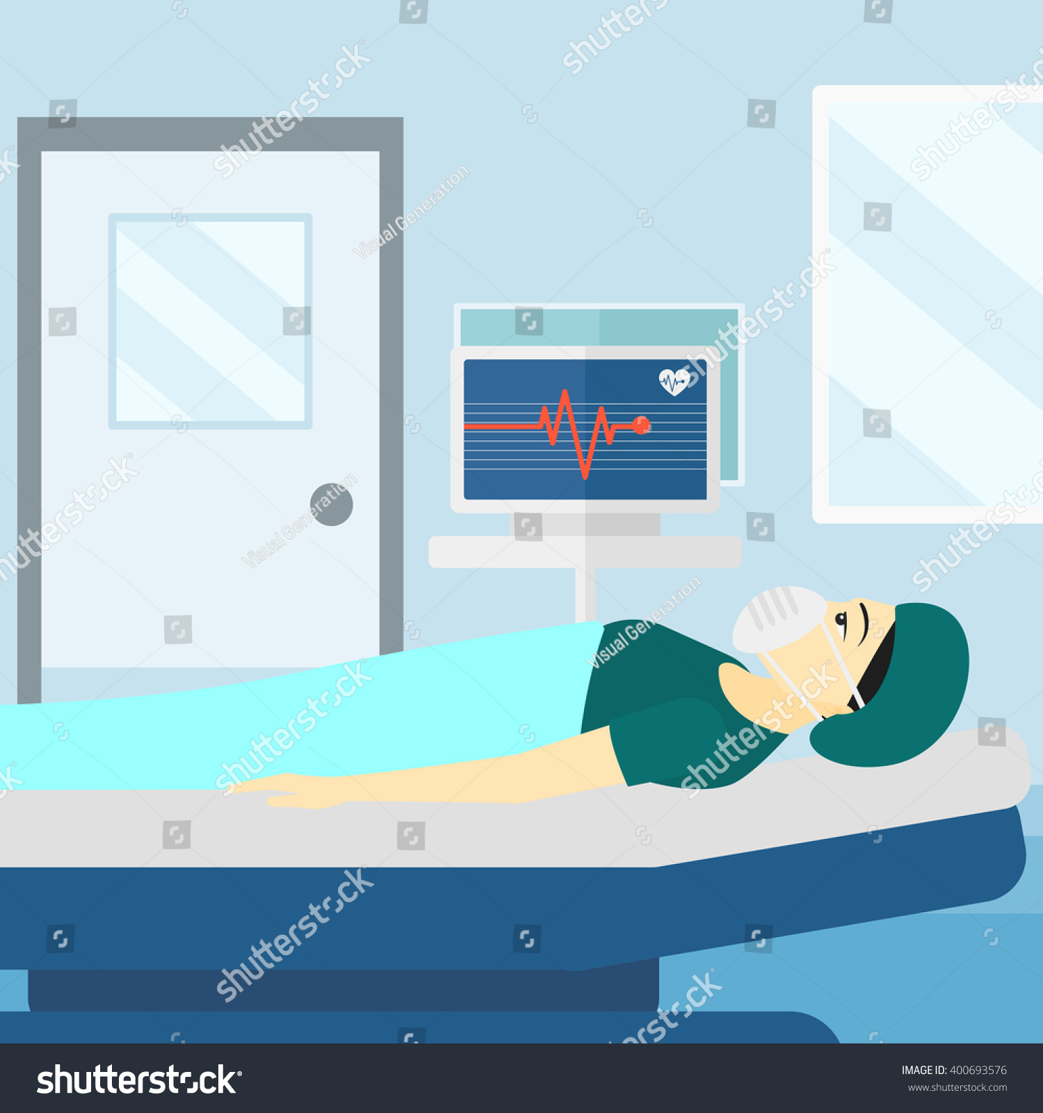 how to read heart monitor in hospital