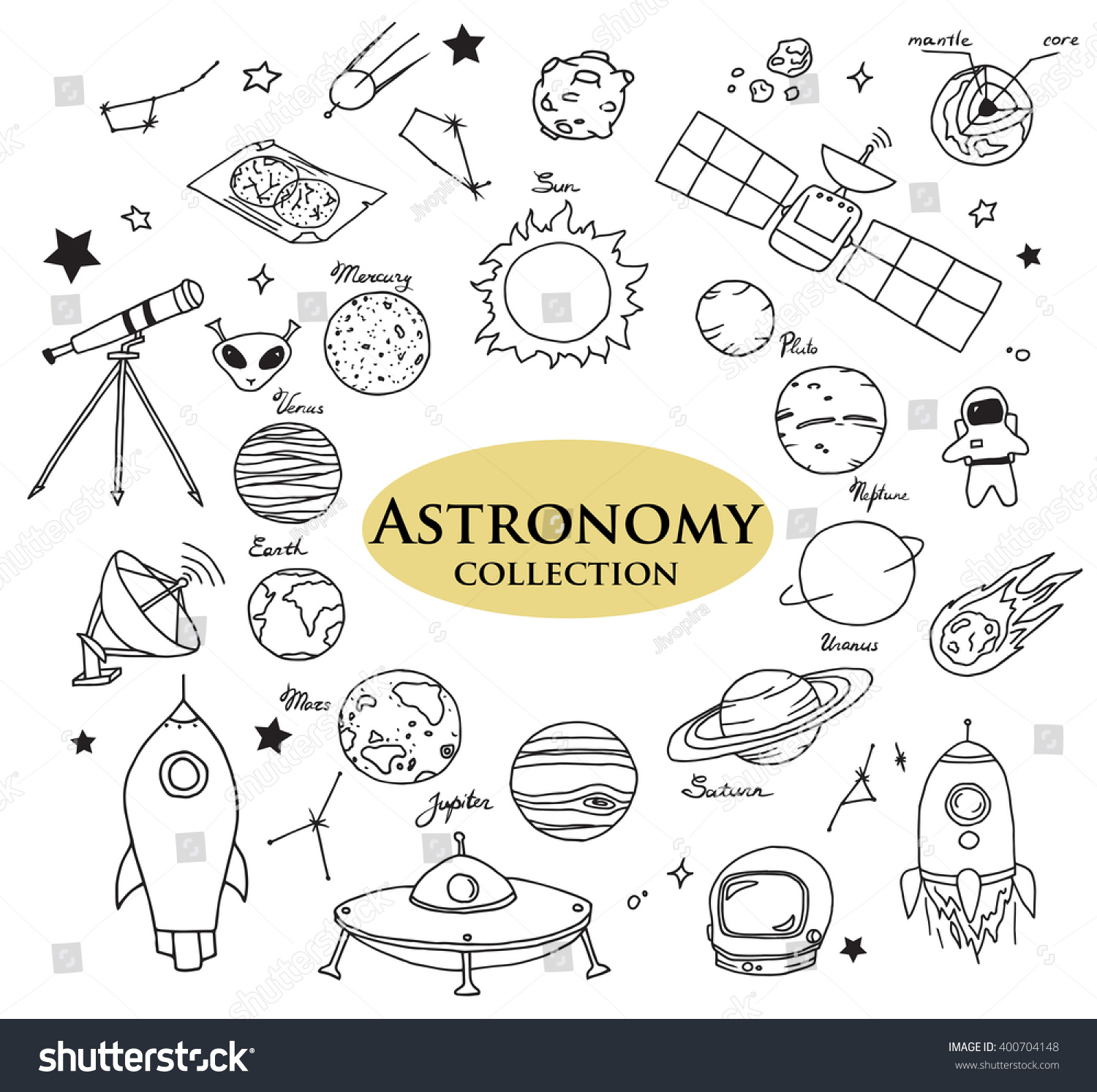 astronomy doodles - photo #5