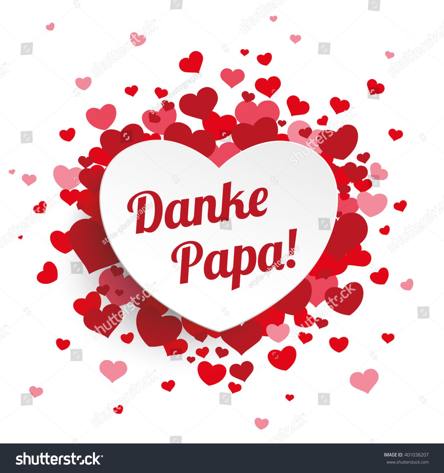 Danke Papa Text : german text danke papa translate thank you dad eps 10 vector file 401038207 shutterstock ~ Watch28wear.com Haus und Dekorationen