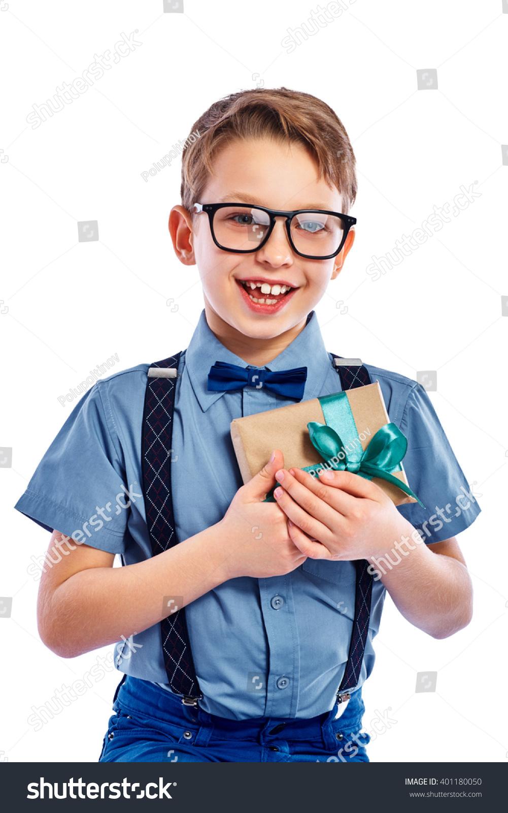 Small boy stylish exclusive photo