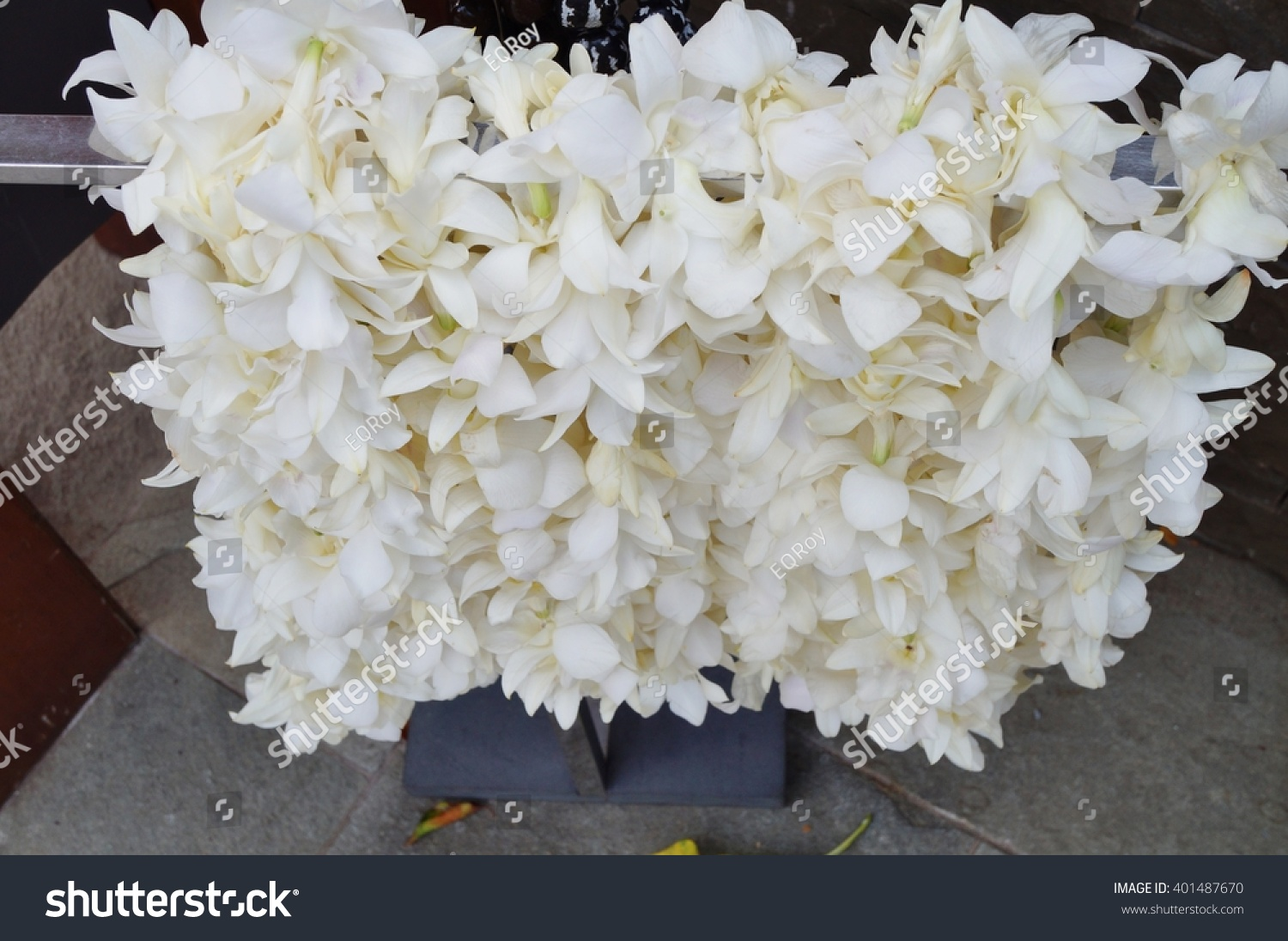 Royalty Free Fragrant White Tuberose Flower And 401487670 Stock