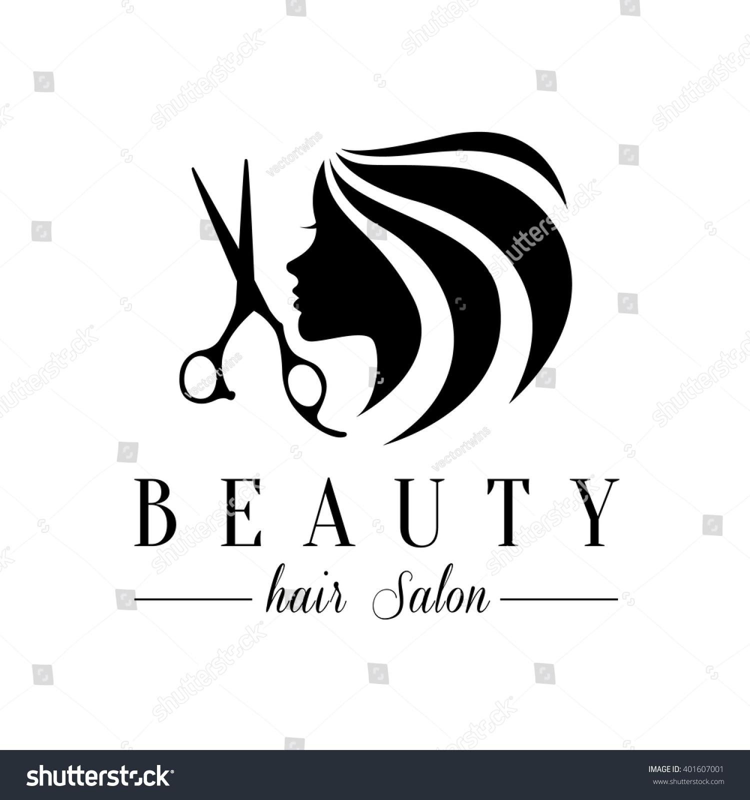 Stock Vector Beauty Hair Salon Logo