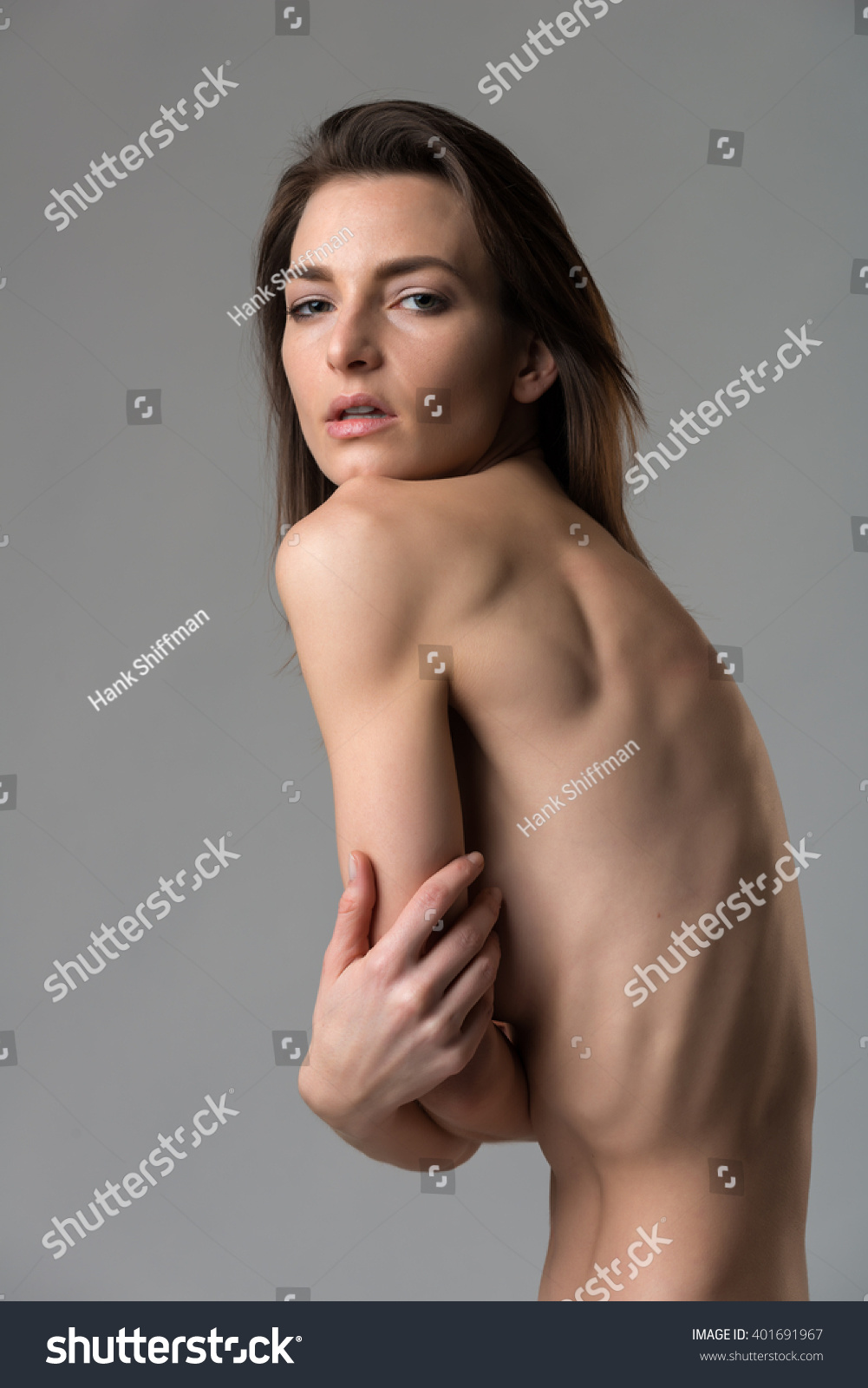 beautiful slender italian woman nude onの写真素材(ロイヤリティ