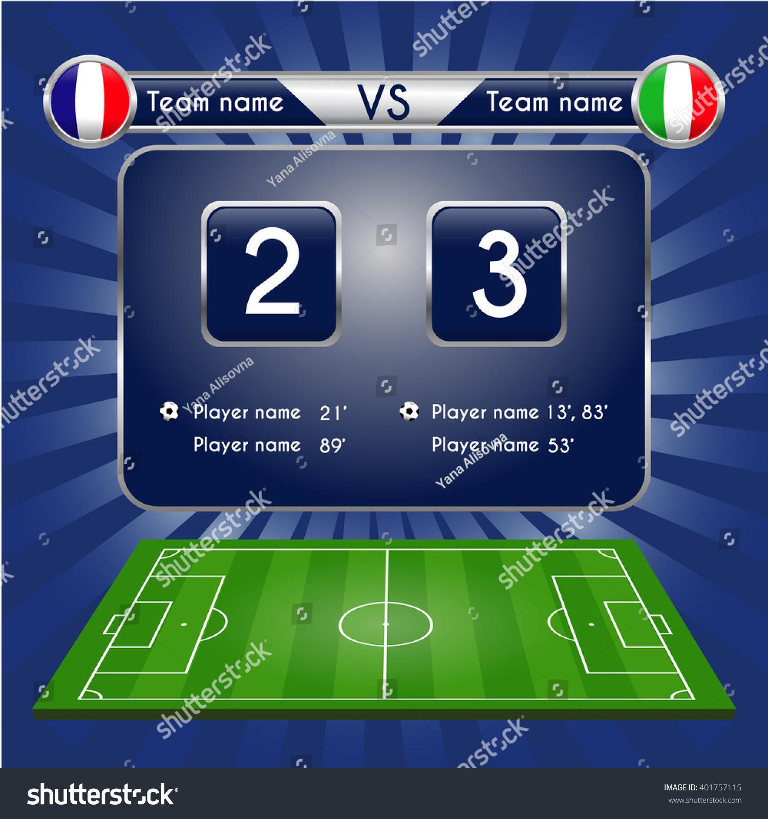 football score - photo #41