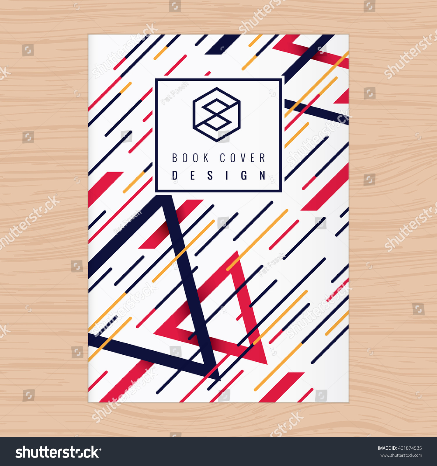 Book Cover Design Abstract : Abstract background book cover poster flyer 스톡 벡터