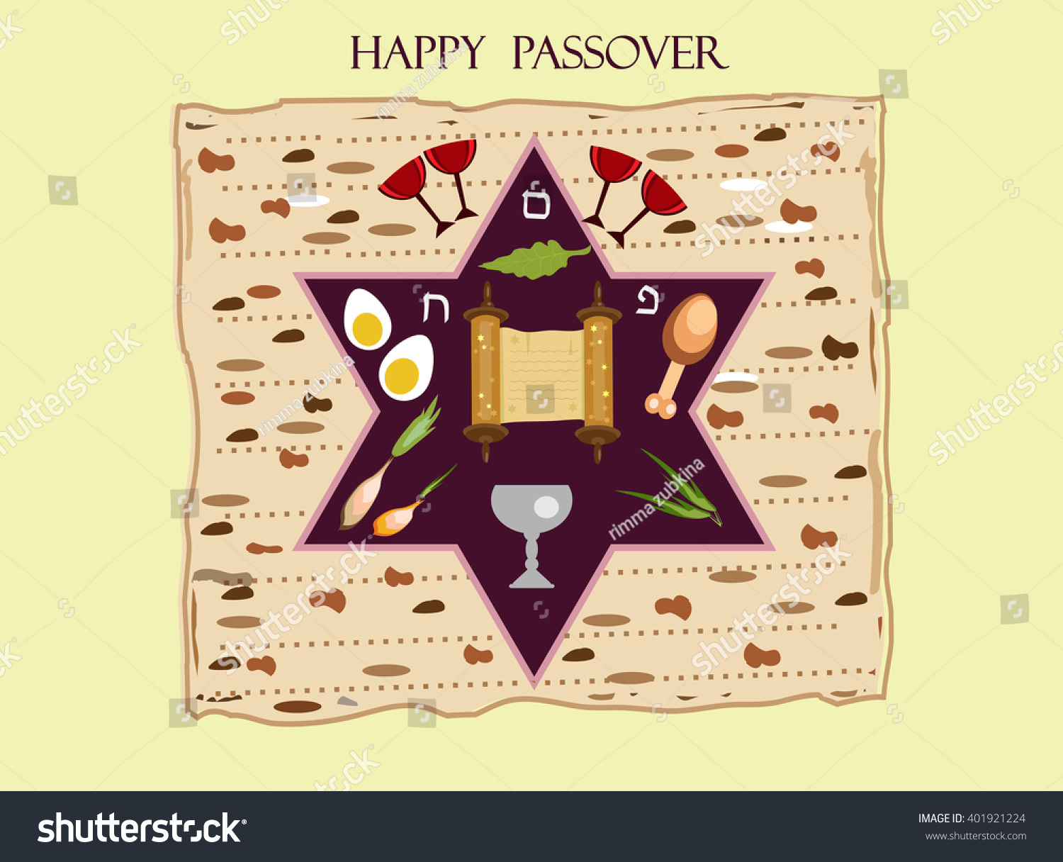 Royalty Free Stock Illustration Of Holiday Passover Background