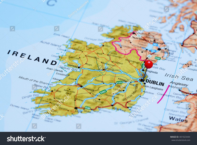Ireland On Map Map Api Google Maps Usa - Ireland on map