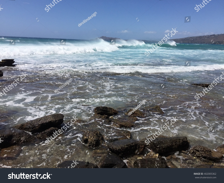 Ocean waves #402005362