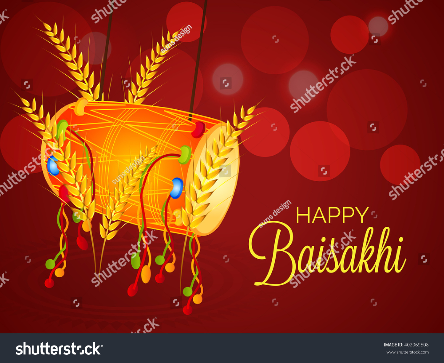 vector illustration of a background for punjab new year baisakhi mubarak happy baisakhi festival