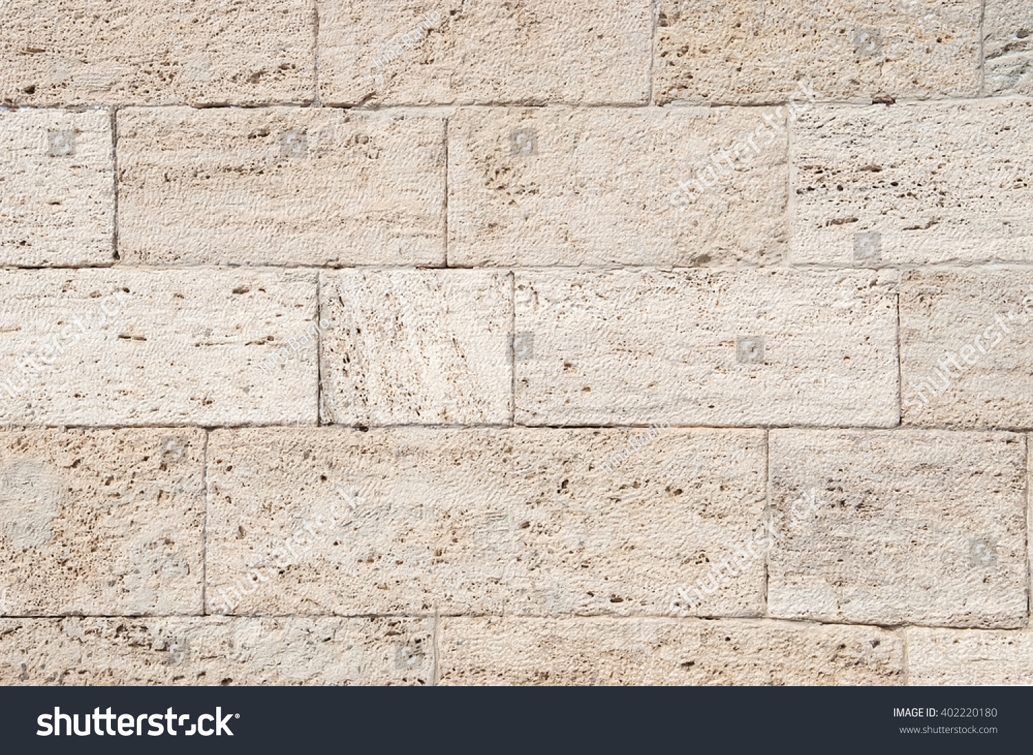 Seamless Texture Brown Stone Stone Tile Stock Photo 402220180