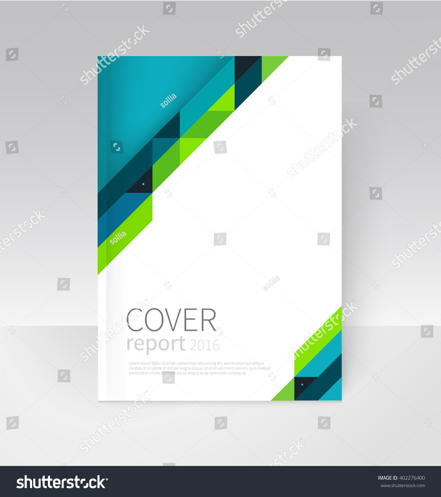 report cover template word