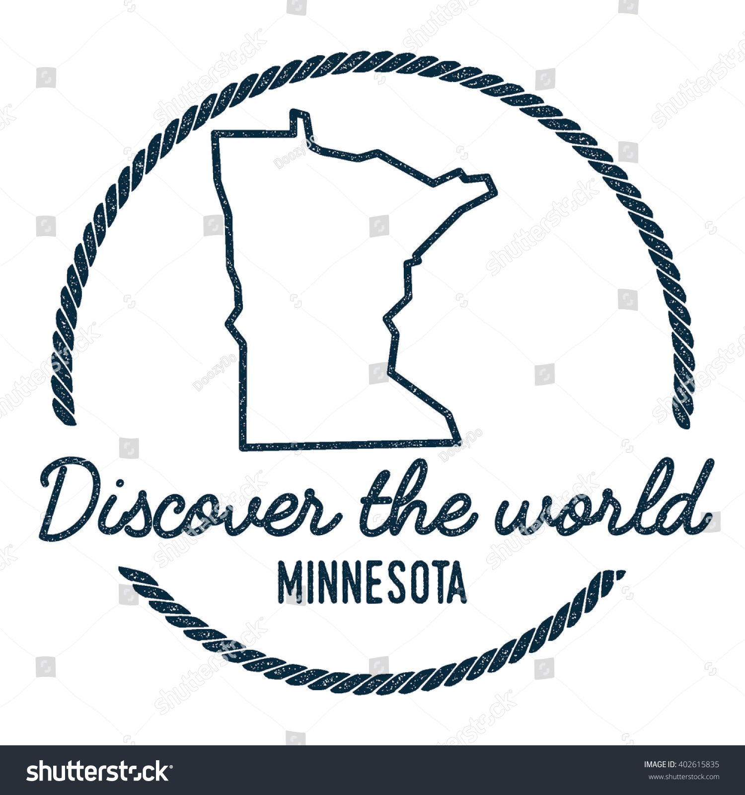 Minnesota map outline vintage discover world vectores en stock minnesota map outline vintage discover the world rubber stamp with minnesota map hipster style gumiabroncs Choice Image