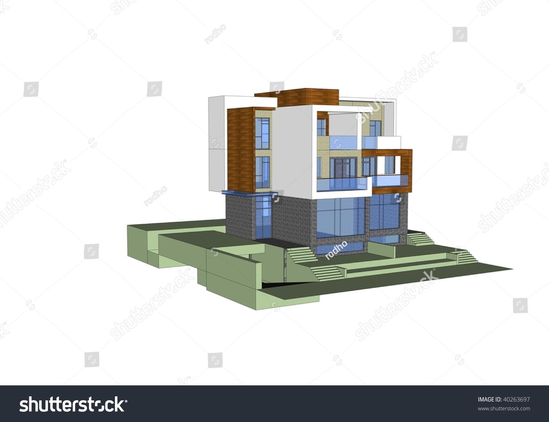 House model sketchup