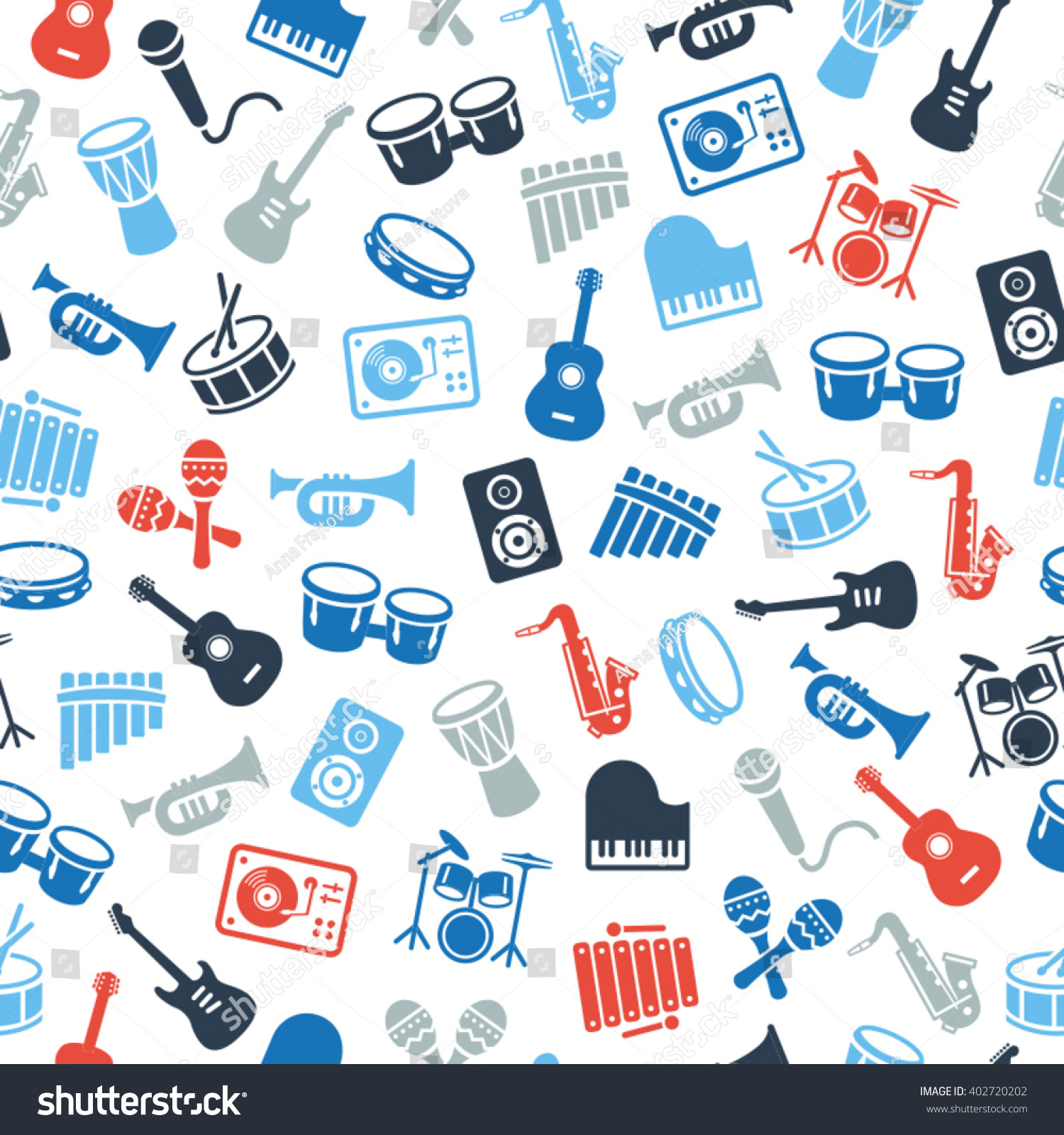 Great Wallpaper Music Pattern - stock-vector-musical-instruments-icons-wallpaper-seamless-pattern-can-be-used-on-print-materials-or-on-402720202  Pic_129543.jpg