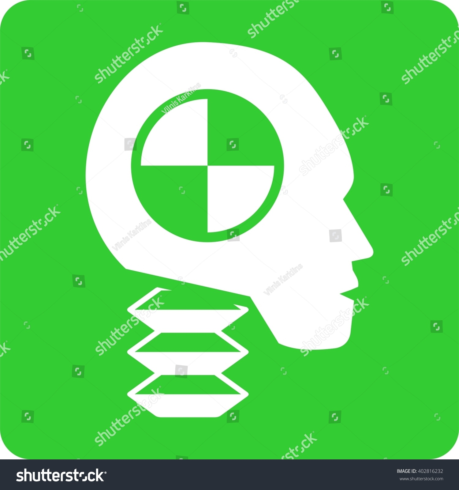 Car Test Crash Dummy Stock Vector 402816232 Shutterstock