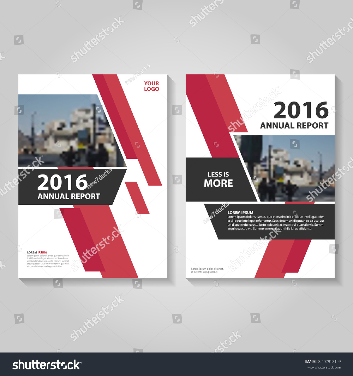 Red vector annual report leaflet brochure stock vector royalty free red vector annual report leaflet brochure flyer template design business proposal report book cover layout accmission
