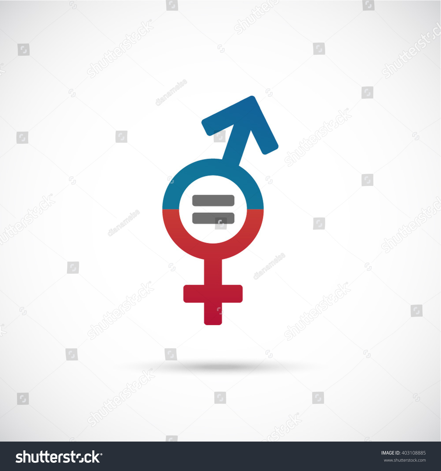 Male Female Equality Concept Equality Men Stock Vector Hd Royalty