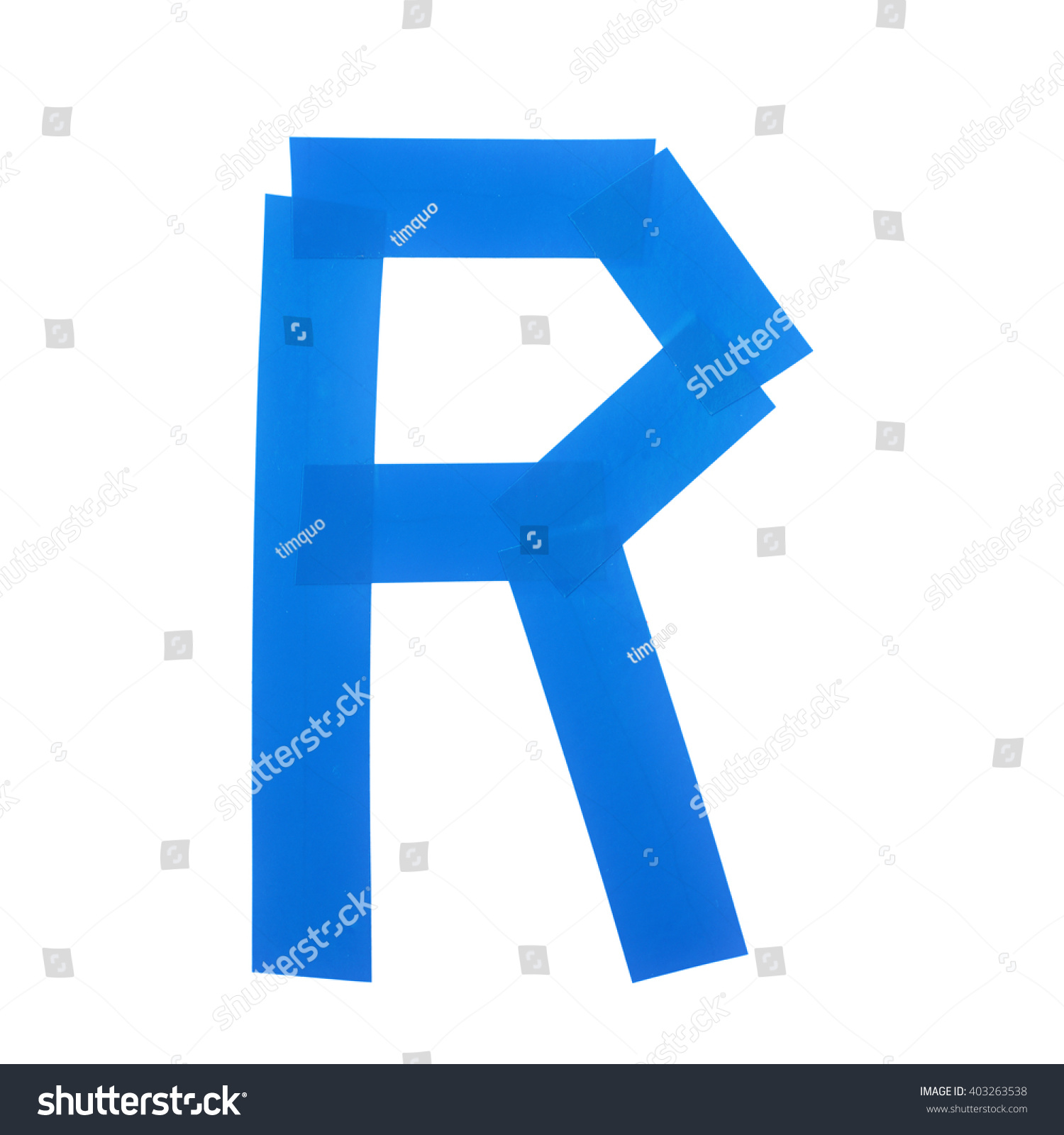 Letter r symbol made insulating tape stock photo 403263538 letter r symbol made of insulating tape pieces isolated over the white background buycottarizona
