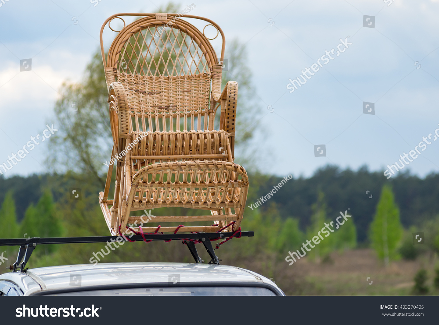 car passenger transportation image wicker a rocking for shutterstock rockingchair photo on chair stock of roof