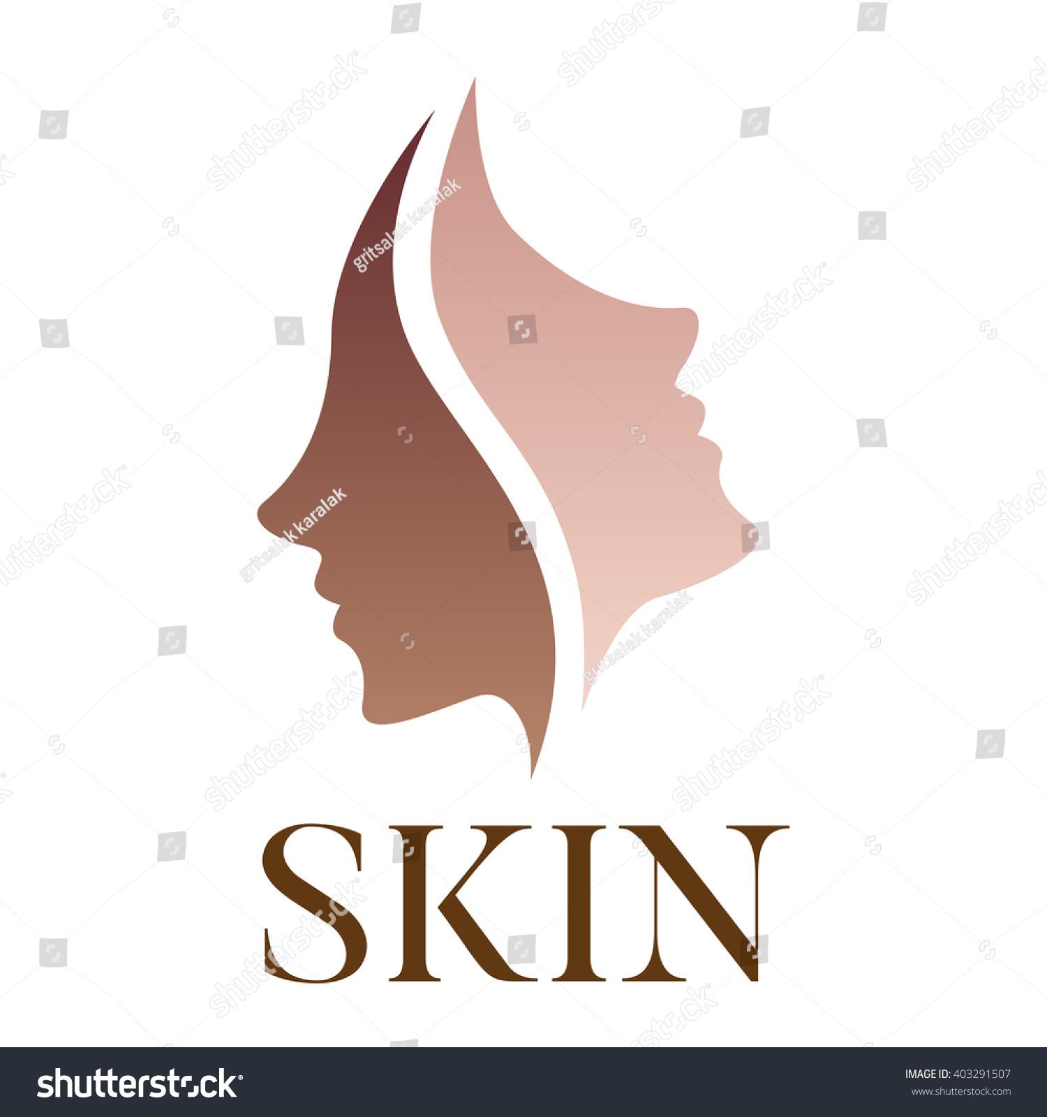 skin vector icon logo dark turn stock vector 403291507 beauty salon logo design ideas beauty salon logo design pics