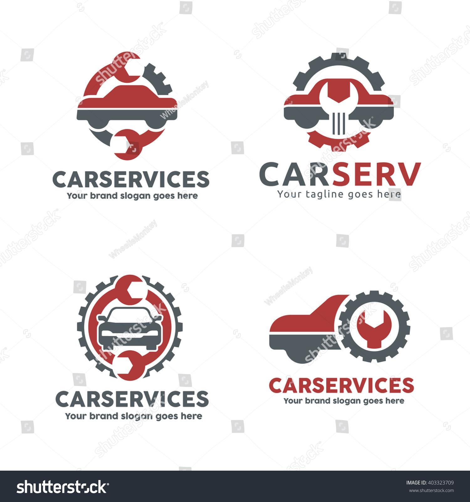 Car Service Garage Logo Shop Brand Stock Vector 403323709