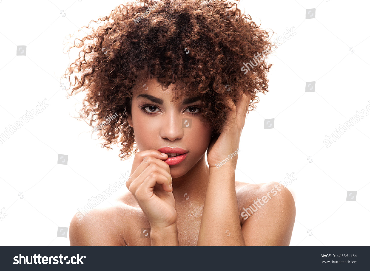 Stunning Beautiful Young African American Black Stock Photo 403361164 Shutterstock