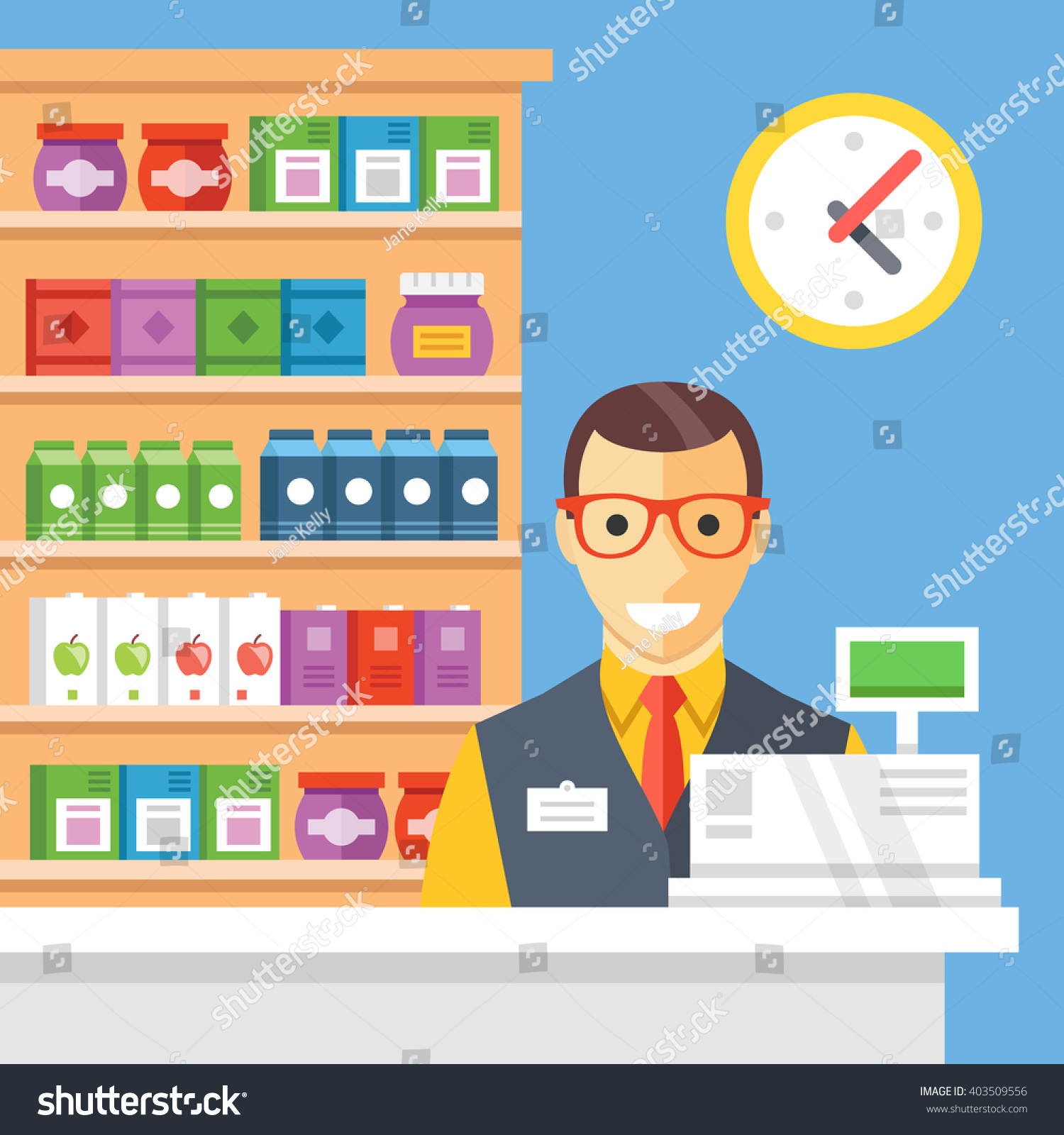 Store Register Check Out