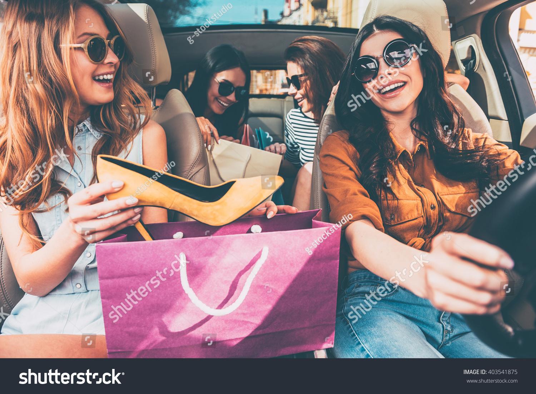 Next Stop Lingerie Shop Four Beautiful Stock Photo 403541875 ...