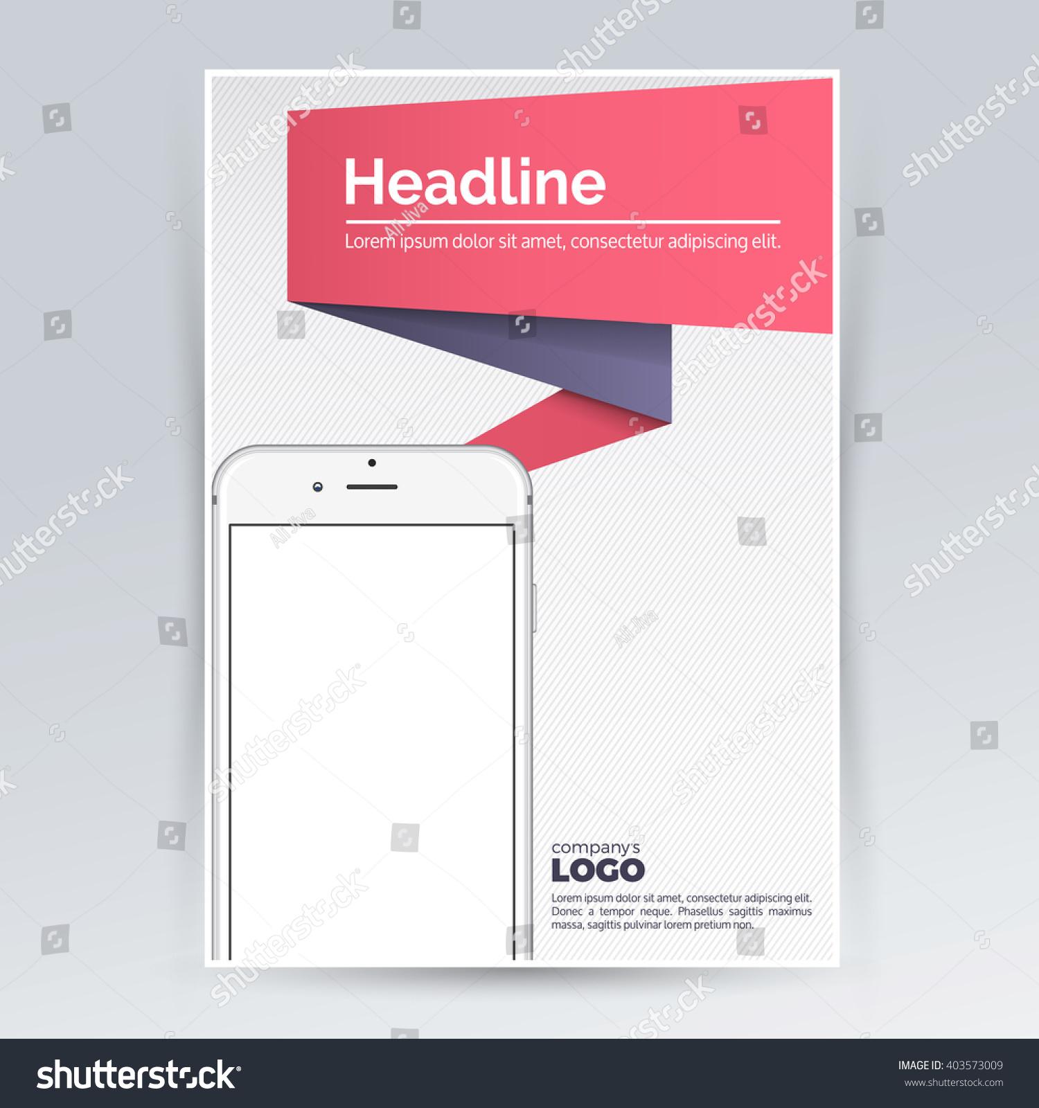 Advertising Design Template