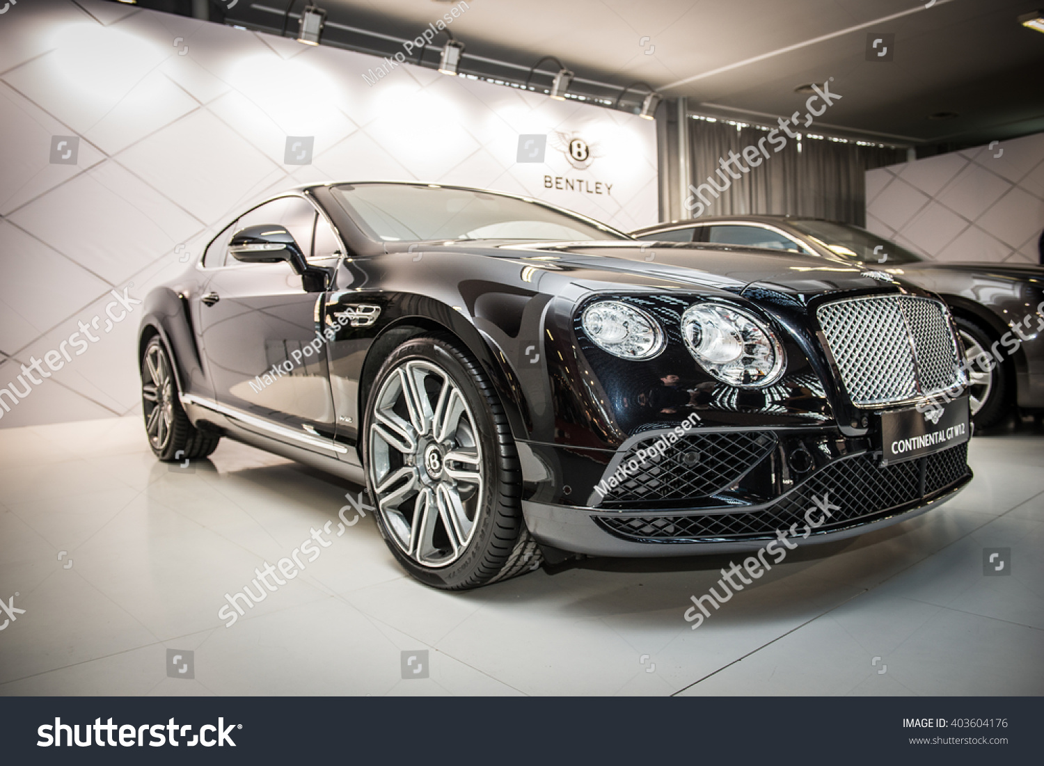 Belgrade Serbia March 17 2016 Bentley Stock Photo Edit Now Continental Audio Wiring Presented At Ddor Bg Carshow