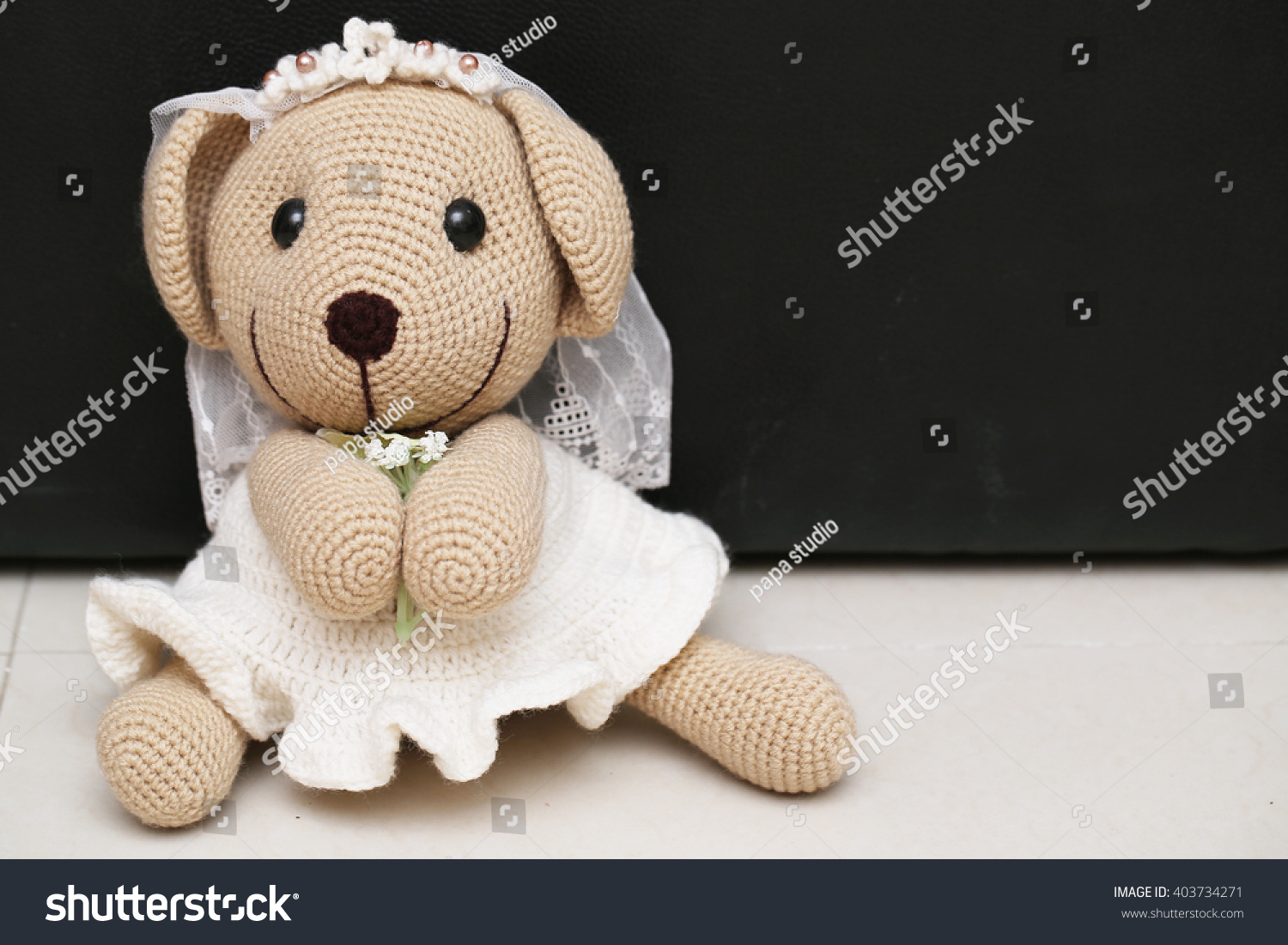 bear doll in love Toy bears with wedding