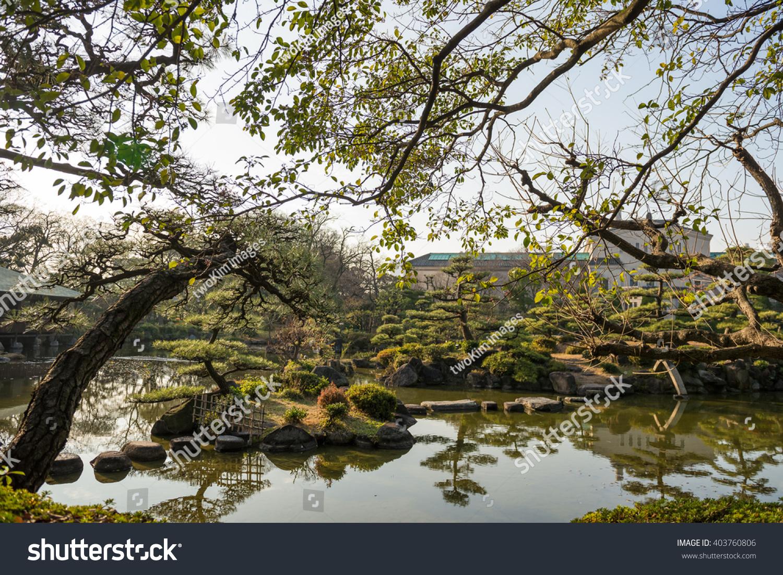 OSAKA JAPAN JANUARY 3 2016 Keitakuen Stock Photo (Edit Now ...