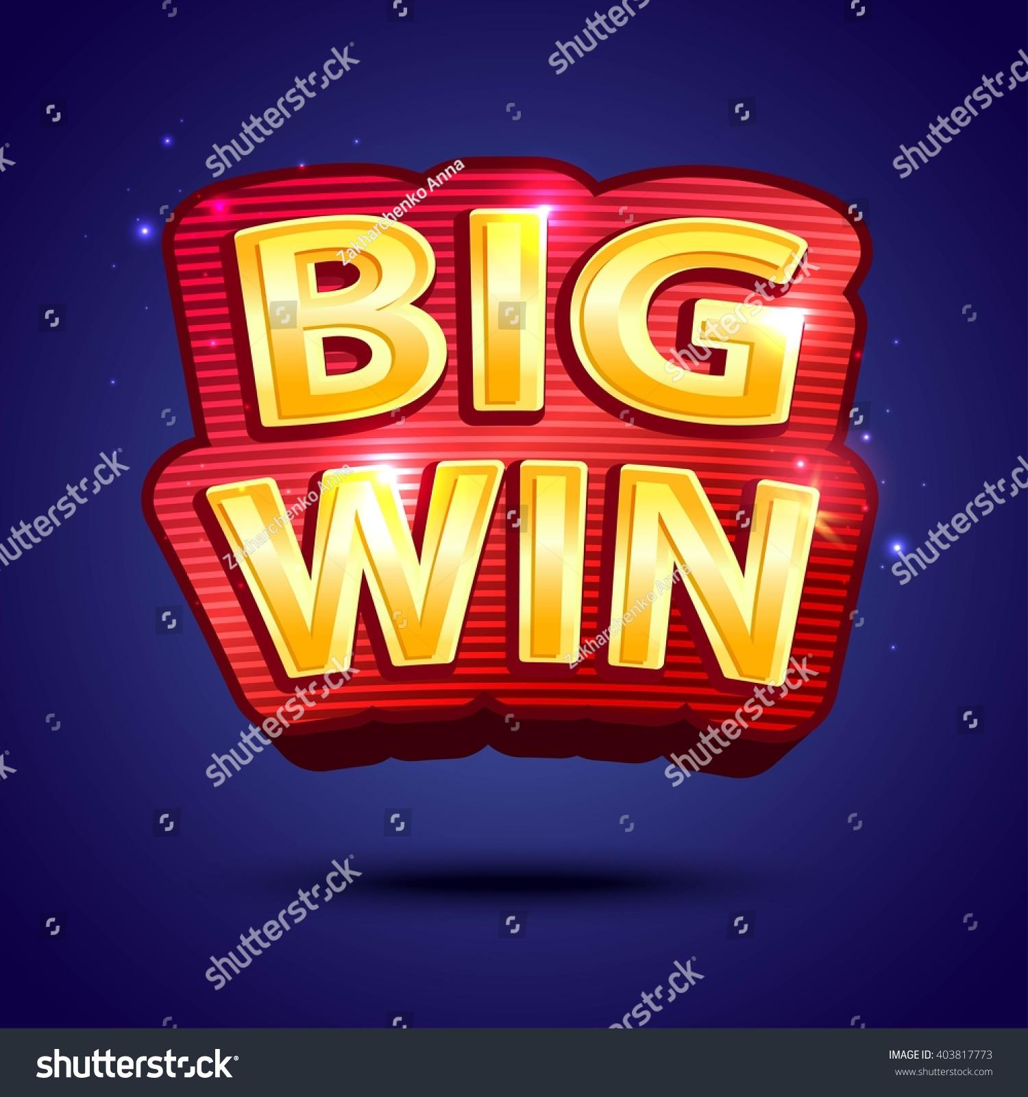 Design large banner in illustrator - Big Win Banner For Online Casino Poker Roulette Slot Machines Card Games